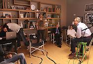 SAO PAULO - 18.08.2012. ANDREA MATARAZZO 45450. O candidato a vereador Andrea Matarazzo participa da gravação do programa eleitoral. São Paulo, Brasil, agosto 20, 2012. DANIEL GUIMARÃES