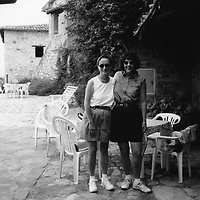 Linda & Karen in Italy
