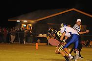 Oxford High's Franklin Tatum (8) makes a sack vs. New Hope in New Hope, Miss. on Friday, September 30, 2011. New Hope won 43-22.