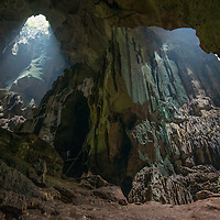 Inside Miri Caves, Miri, Sarawak, Malaysia, Borneo,