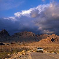 Old Route 66, Near Oatman, Arizona, USA.