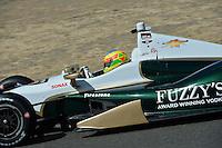 Mike Conway, Sonoma Raceway, Sonoma, CA USA 8/24/2014