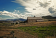 Old barn at Soldier Hollow near Midway, Utah.