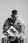 Cole Abernathy<br /> Army<br /> E-6<br /> Forward Observer<br /> 08/14/03 - 11/06/14<br /> OIF<br /> <br /> Model Release: Yes<br /> Photo by: Stacy L. Pearsall