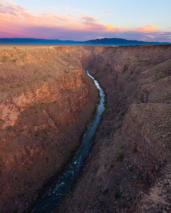 Rio Grande Gorge. Northern New Mexico near Taos.