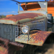 Rusted Truck - Pearsonville, CA - Lensbaby