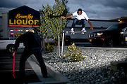 ANCHORAGE, ALASKA - 2010: CJ Walker.