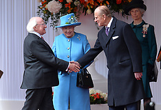 APR 08 2014 Ceremonial Welcome in Windsor for the Irish State Visit