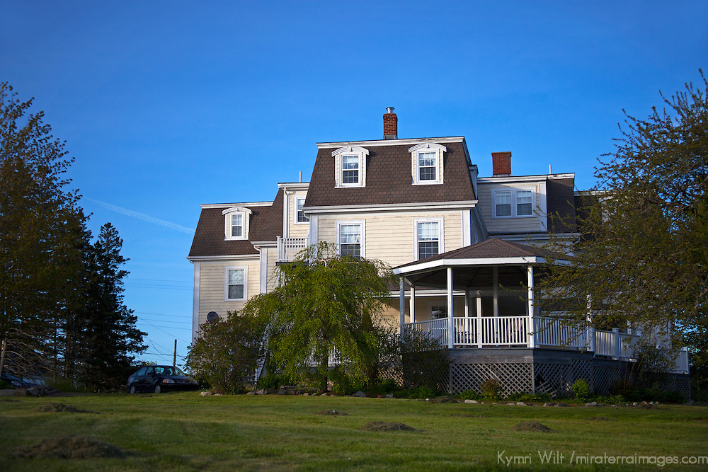 North America, Canada, Nova Scotia, Guysborough. DesBarres Manor Inn.