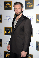 Clive Standen attends Elvis At The O2 Gala Night at The O2, Peninsula Square, London on 15th December 2014