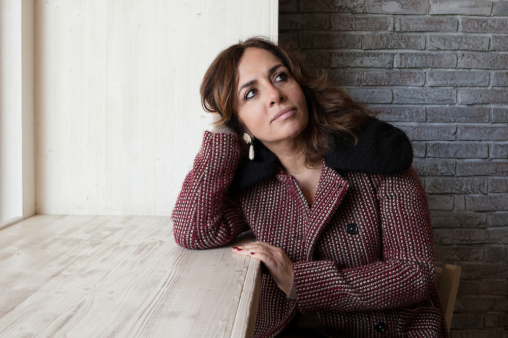 Milano, Italy, January 11, 2015. Lorella Zanardo, documentary filmaker and author&nbsp;who has dedicated her life&rsquo;s work in defense of women's right and to express inequality through her film Il Corpo Delle Donne.<br /> In 2012, Ms Zanardo has been nominated among the &quot;150 Women Who Shake the World&quot; by The Daily Beast.