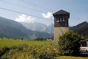 Austria, Upper Austria, Gosau village, in the Dachstein Mountains