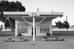 Justice of The Peace stop on Route 66 in Groom, Texas