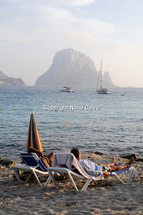 Cala d´Hort beach, Ibiza