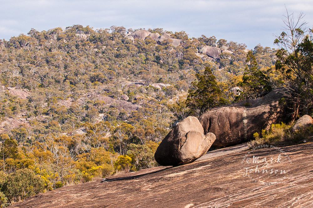Landscaping Boulders Brisbane : Granite boulder landscape the junction girraween