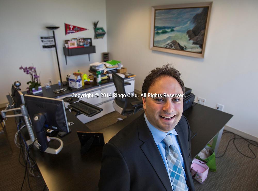 Eitan Weinstock, director of AST Defeasance.<br /> <br /> (Photo by Ringo Chiu/PHOTOFORMULA.com)