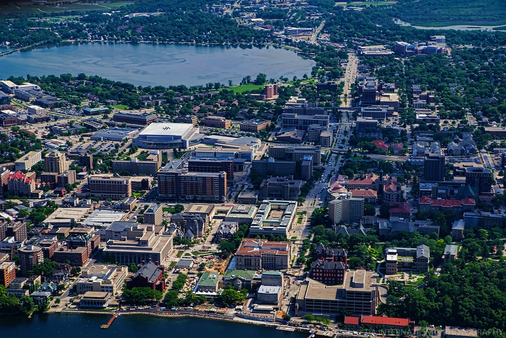 University of Wisconsin & Monona Bay