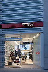 TUMI Store Beverly Hills CA. Rodeo Dr.  photographed by Tom Bonner Job ID 5850