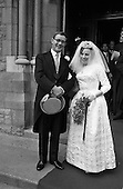 1963 - Wedding of Colm A. O'Rahilly, and Miss Mary Corcoran