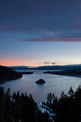 """Emerald Bay Sunrise 9"" - This sunrise was photographed from the world famous Emerald Bay in Lake Tahoe, CA."