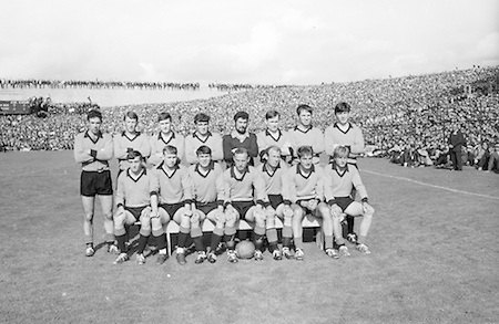 GAA All Ireland Senior Football Final Down v. Kerry 22nd September 1968 Croke Park..The Down Team *** Local Caption *** It is important to note that under the COPYRIGHT AND RELATED RIGHTS ACT 2000 the copyright of these photographs are the property of the photographer and they cannot be copied, scanned, reproduced or electronically stored in any form whatsoever without the written permission of the photographer