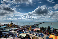 Southend Pier, The Longest Pier in the World, Southend-on-Sea, Essex, Britain - July 2009