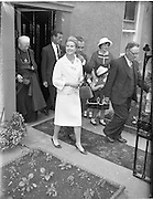 15/06/1961<br /> 06/15/1961<br /> 15 June 1961<br /> Royal Visit to Ireland by Princess Grace and Prince Rainier of Monaco. The royal couple at Westport, Co. Mayo.