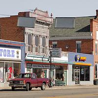 Classic small town, Panguitch, Utah, USA