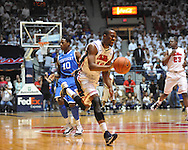"Ole Miss' LaDarius White (10) vs. Kentucky at the C.M. ""Tad"" Smith Coliseum on Tuesday, January 29, 2013.  (AP Photo/Oxford Eagle, Bruce Newman).."