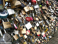 Paris, Pont des Arts, France