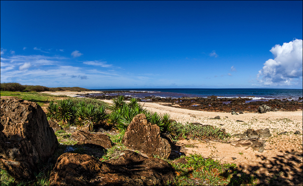 Kaupoa Beach. Molokai, Hawaii