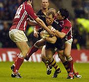 2006, Powergen Cup, Twickenham, Josh Lewsey, London Wasps vs Llanelli Scarlets, ENGLAND, 09.04.2006, 2006, , © Peter Spurrier/Intersport-images.com.   [Mandatory Credit, Peter Spurier/ Intersport Images].