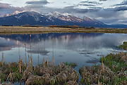 Mission Mountains in Spring, Montana