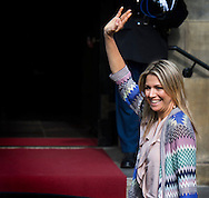 King Willem-Alexander and Queen Maxima of The Netherlands attend an diner for the Cors Diplomatique at the Royal Palace in Amsterdam, The Netherlands, 25 June 2015. COPYRIGHT ROBIN UTRECHT
