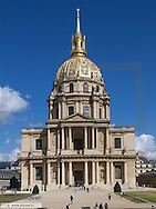 Paris, Invalides church, hotel des invalides, France