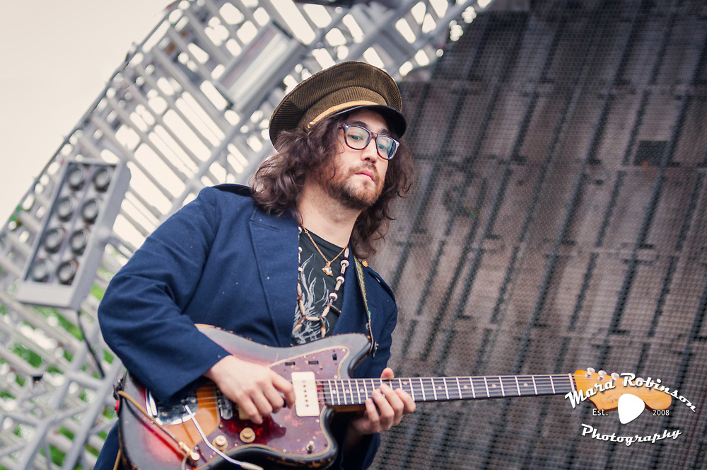 Sean Lennon in The Ghost Of A Saber Tooth Tiger at Nelsonville Music Festival 5/14/2011