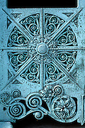 CHICAGO, HISTORIC ARCH. Louis Sullivan, Architect Getty Family Tomb, detail, 1890, Graceland Cemetery