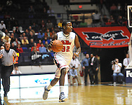 Mississippi's Jarvis Summers (32) dribbles against  Mississippi Valley State in Oxford, Miss. on Friday, November 9, 2012.