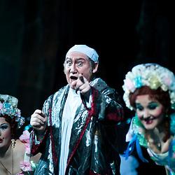Teatro dell'Opera Nazionale Taras Shevchenko. Cenerentola di Giacomo Puccini. Bogdan Taras, Svetlana Godlevskaya e Oksana Tereshenko