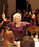 Co-Chair Mrs. Shelley Goldenberg was the guest conductor during the Wind Symphony Concert.at the 2007 Arts Gala at Wright State University, Saturday evening..