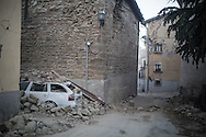 Early in the morning an other quake shaked the Amatrice area causing new damages.