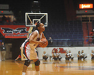 Ole Miss' Kayla Melson (20) vs. Mississippi Valley State in women's college basketball action in Oxford, Miss. on Wednesday, December 15, 2010.