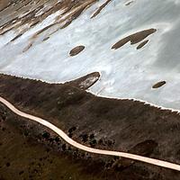 Africa, Namibia, Etosha. Shoreline of the Etosha Pan in Etosha National Park.