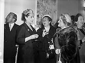 1954 - 20/04 Margaret Burke Sheridan at Inauguration of Italian Cultural Institute