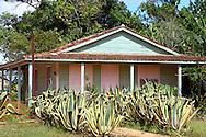 House in Gaspar, Ciego de Avila, Cuba.