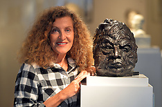 SEP 15 2014 Nicole Farhi's sculpture exhibition From The Neck Up
