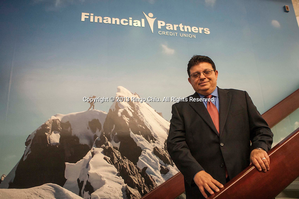 Nader (pronounced 'Nodder') Moghaddam, CEO of Financial Partners Credit Union in Donwey..