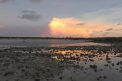 Dramatic wet season build-up over Cable Beach on a super low tide.