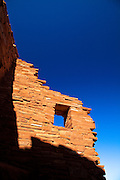 Wupatki Pueblo ruins at Wupatki National Monument.