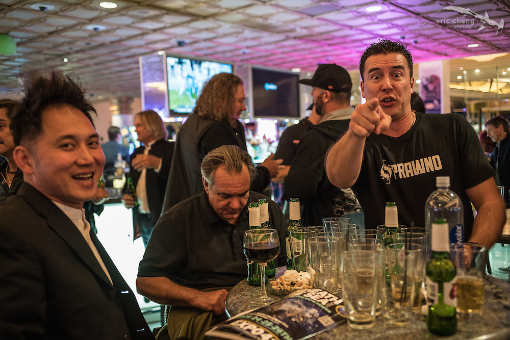 John Thet, Todd Essick, Jeff Honda (DEMA 2016, Las Vegas)